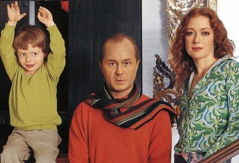 Андрей Гайдулян биография актера, фото с женой и сыном